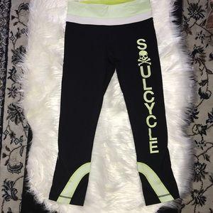 🍋 Lululemon soulcycle crop leggings